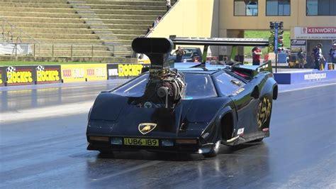 Fuel Used In Lamborghini Top Fuel Dragster Im Lamborghini Countach Der
