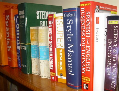 Shelf Translation by Dictionaries 4 Of Favourites