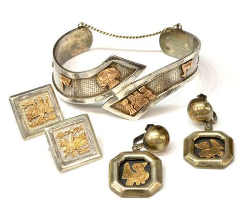 4 estate peruvian sterling 18kt gold jewelry april