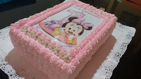 decoracion de tortas con crema de minnie torta minnie foto secretos del chef