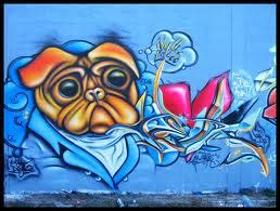 design canine graffiti graffiti alphabet and dog design on wall for ideas