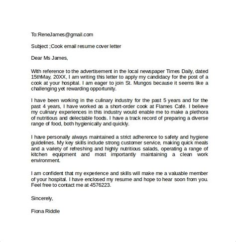 email cover letter templates ms word