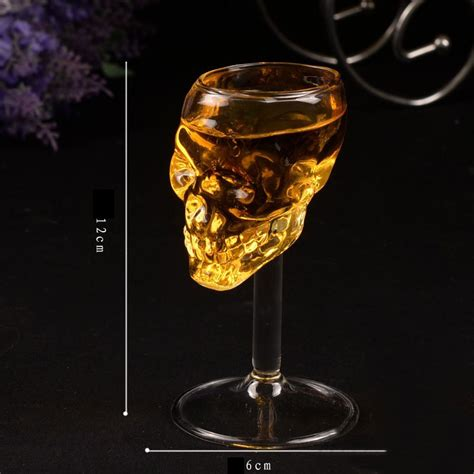 barware com au skeletal bones armor warrior skull designed high goblet