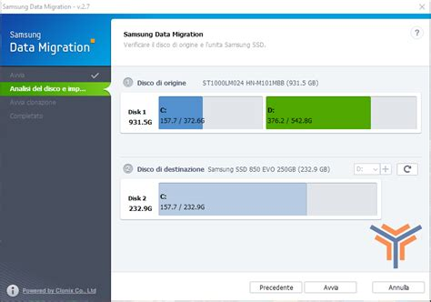 come montare un ssd samsung evo e usare samsung data migration