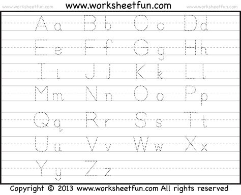 free traceable alphabet worksheets a z abitlikethis