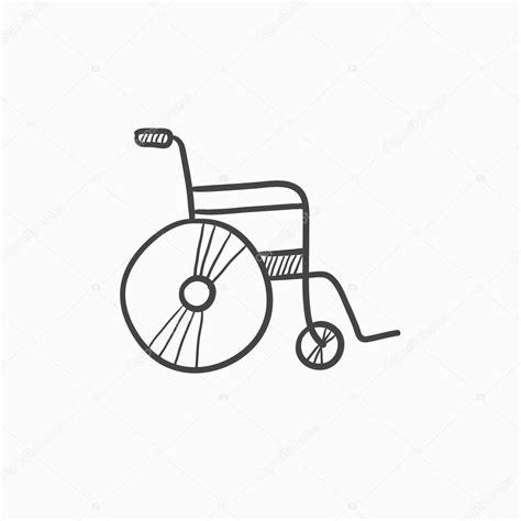silla dibujo silla de ruedas dibujo las sillas de ruedas
