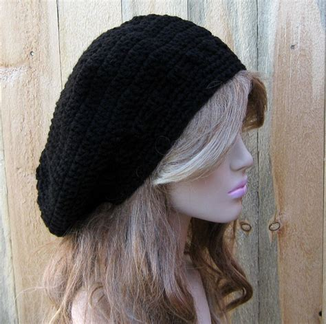 pattern for artist beret black beret hat artist hat slouchy beanie man slouch hat