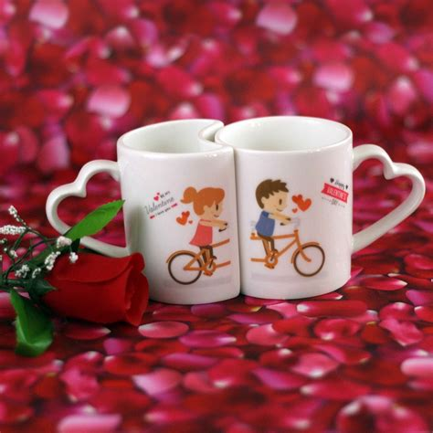 valentines day couple mug anim