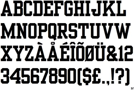 typography yearbook free yearbook font