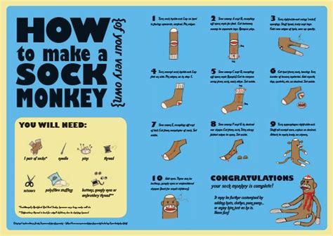 How To Fix A L by How To Make A Sock Monkey By Quicklikeafox On Deviantart