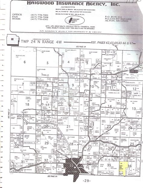 oregon plat maps 145 acres in oregon county missouri