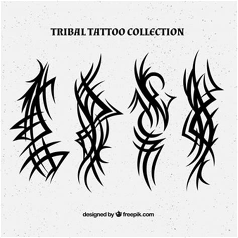 vertical tribal tattoos tribal vectors photos and psd files free