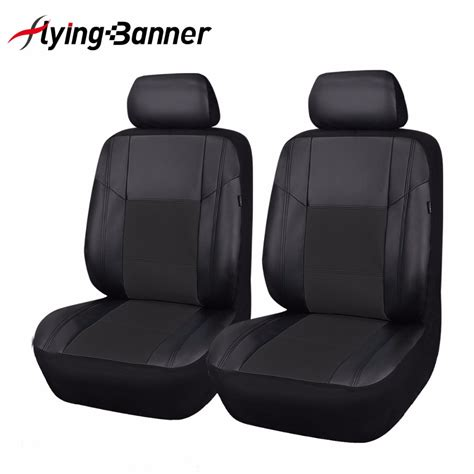 front seat covers luxury pu leather seat covers 2 front car seat cover