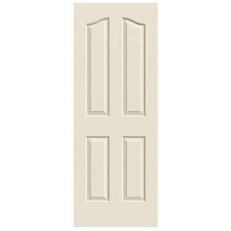 home depot hollow interior doors jeld wen 24 in x 80 in molded textured 4 panel eyebrow