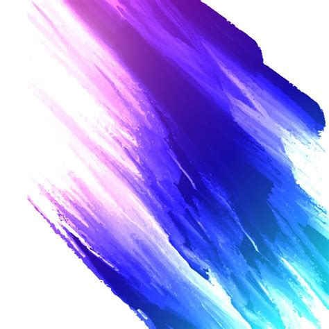 abstract colorful watercolor painting background vector