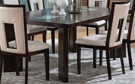 espresso rectangular dining table delano espresso cherry extendable rectangular dining table
