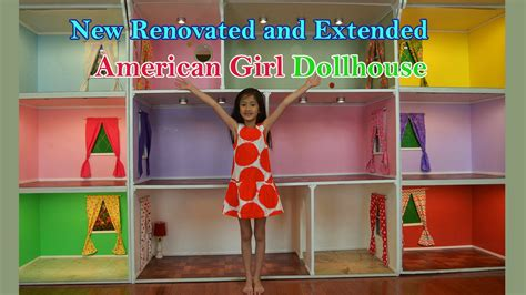 biggest doll houses one of the biggest american girl doll houses youtube