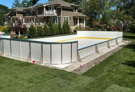Learn More About Synthetic Ice D1 Backyard Rinks Backyard Hockey Rink Boards