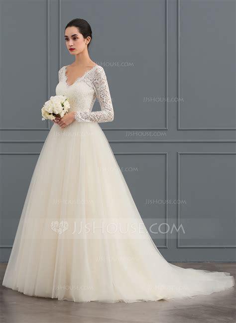 Robe Tulle Mariage - robe marquise col v tra 238 ne moyenne tulle dentelle robe de