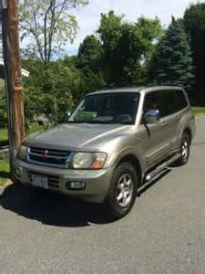 2001 Mitsubishi Montero Sport Limited Purchase Used 2001 Mitsubishi Montero Limited Sport