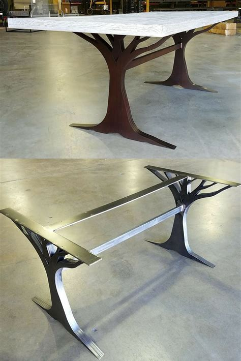 metal table legs best 25 metal table legs ideas on steel table