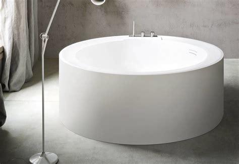 round stone bathtub hole bathtub round by rexa design stylepark