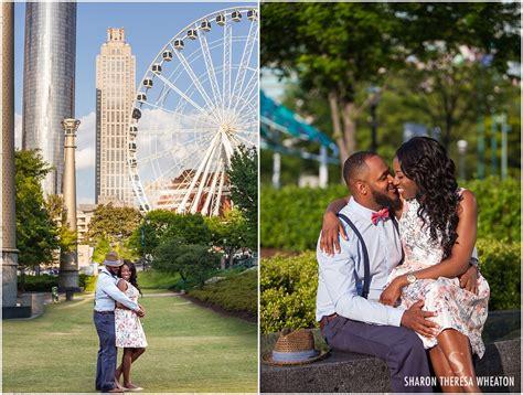 centennial olympic park engagement atlanta weddings