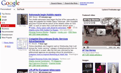 google news google news redesign