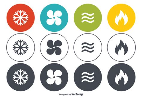 free vector graphic art free photos free icons free hvac vector icon set download free vector art stock