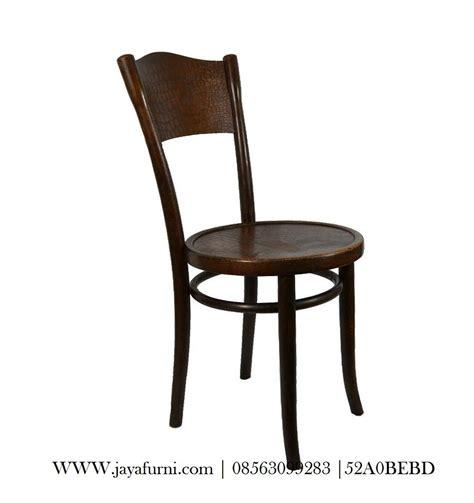 Jual Kursi Cafe jual kursi cafe minimalis bundar dengan material kayu jati