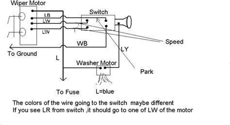 ez wire to stock wiper motor question ih8mud forum