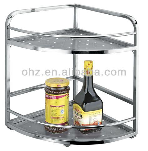 Cheap Kitchen Supplies by Cheap Kitchen Accessories Stainless Steel Corner Storage
