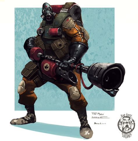mask layout engineer the pyro by colorbind on deviantart