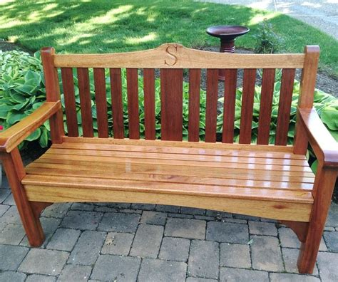 Our Next Outdoor Project Out Door Place Bbq This Charming Bench Finished With Our Waterlox Marine
