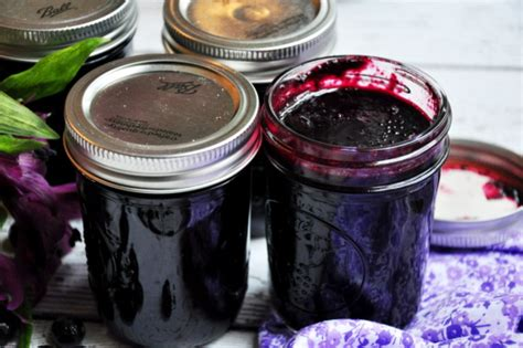 Jam Blueberry By Lkl Present clean blueberry jam cooking with