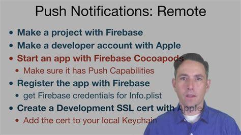 firebase hosting tutorial remote ios push notification tutorial using firebase