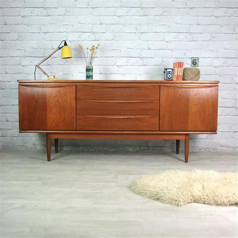 Vintage Teak Sideboard vintage 1960s teak sideboard mustard vintage