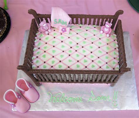 baby shower crib cake frazi s cakes
