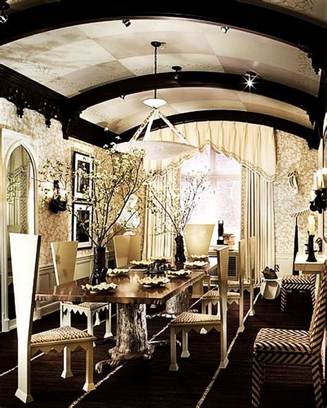 gothic dining room gothic inspired dining room area decoist