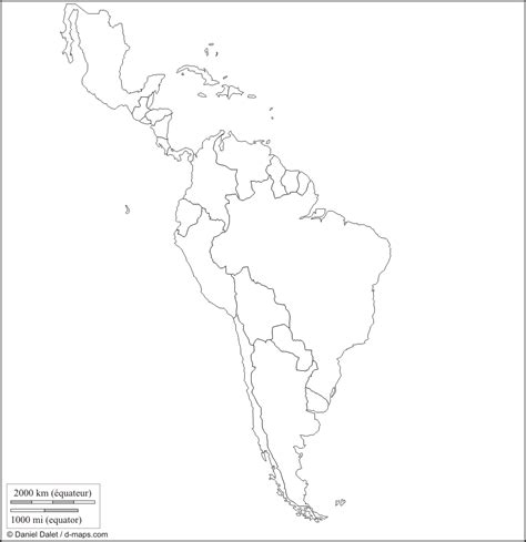 blank map of south america maps may 2012