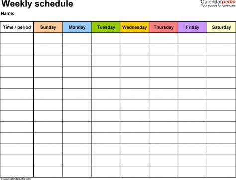 fillable weekly calendar template calendar template fillable pdf calendar printable 2018