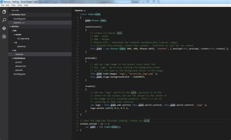 tutorial visual studio code c phaser news visual studio code tutorial using phaser