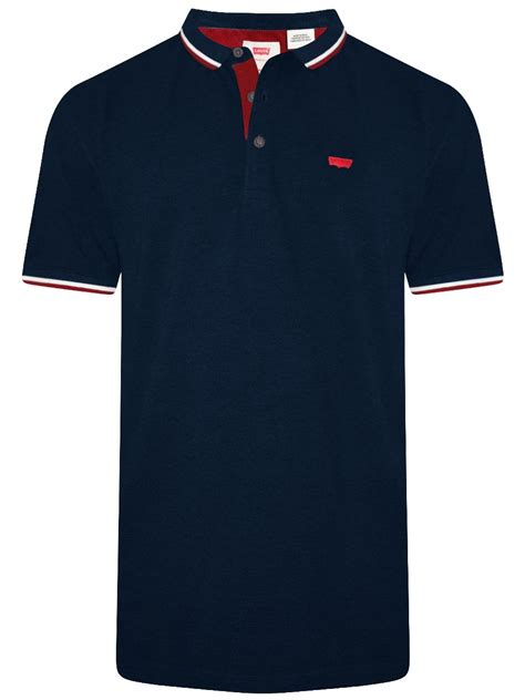 Polo Shirt Levis Solid buy t shirts levis blue polo t shirt 17080 0024