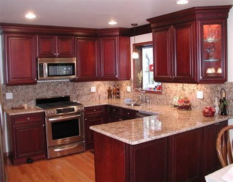Pictures Of Kitchens With Cherry Cabinets by Kitchen Colors With Cherry Cabinets Desjar Interior