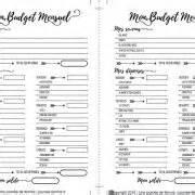 17 meilleures id 233 es 224 propos de planificateur de budget