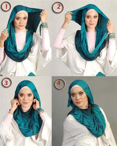 tutorial hijab simple modern 2015 latest hijab tutorial for 2015 hijabiworld