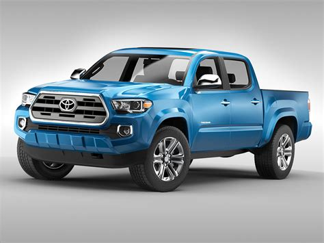 Toyota Max Toyota Tacoma 2016 3d Model Max Obj 3ds Fbx Cgtrader