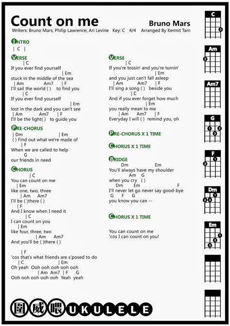 bruno mars count on me biography 圍威喂 ukulele bruno mars count on me ukulele chord uke
