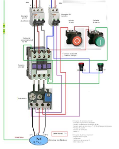un contactor a botoneras esquemas el ctricos apexwallpaperscom esquemas el 233 ctricos arranque de motor trifasico mando con
