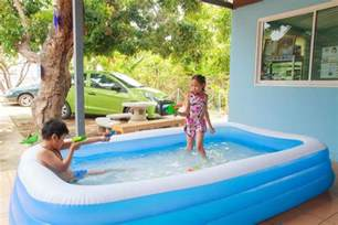 Backyard Blow Up Pools by Entertaining Kids In Summer Pool For Kids Backyard